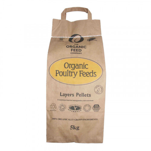 A & P Organic Layers Pellets 5kg