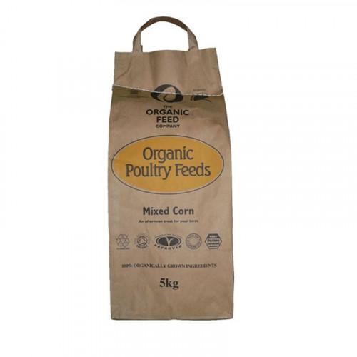 A & P Organic Mixed Corn 5kg