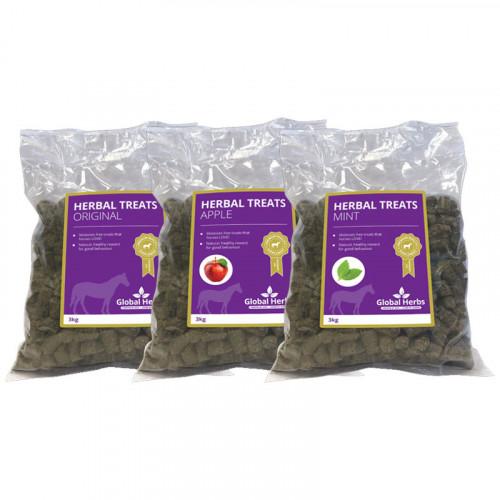 Global Herbs Herbal Treat Apple Flavour 3kg