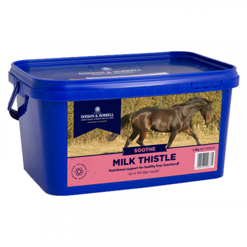 D&H Milk Thistle 500g Tub