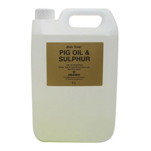 Gold Label Pig Oil and Sulphur 5 Litre