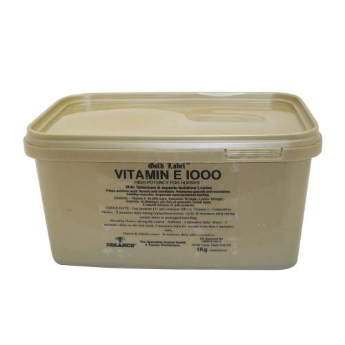 Gold Label Vitamin E 1000