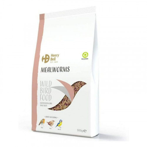 Henry Bell Mealworms 500g