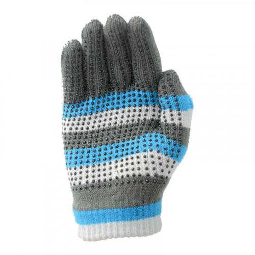 Hy5 Magic Striped Gloves Blue/Grey
