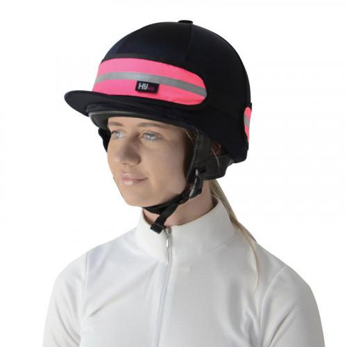 HyViz Hat Band Pink/Black