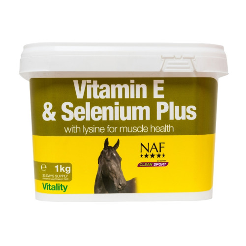 NAF Vit E, Selenium & Lysine 1kg