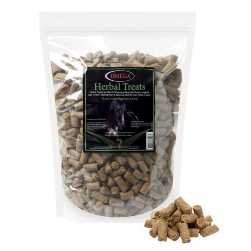Omega Equine Herbal Treats4kg