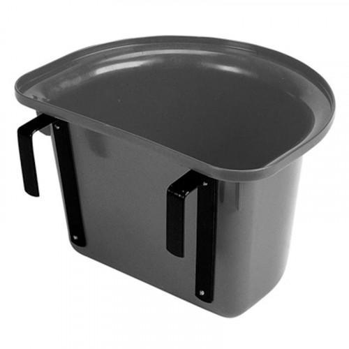 Plastic Portable Manger Black