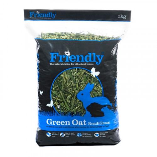 Green Oat Readigrass 1kg Blue Bag