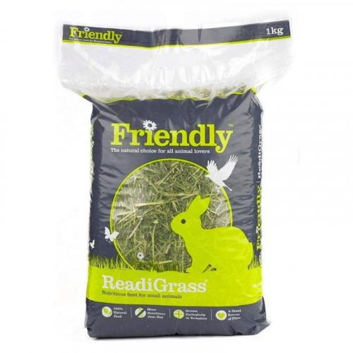 Rabbit 1kg Dried Grass Green Bag