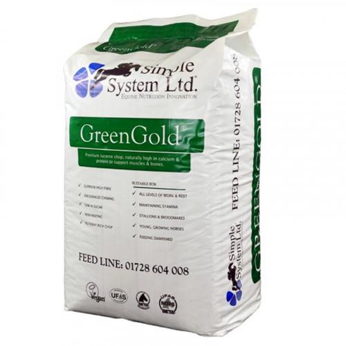 Simple System GreenGold Lucerne Chop 15kg