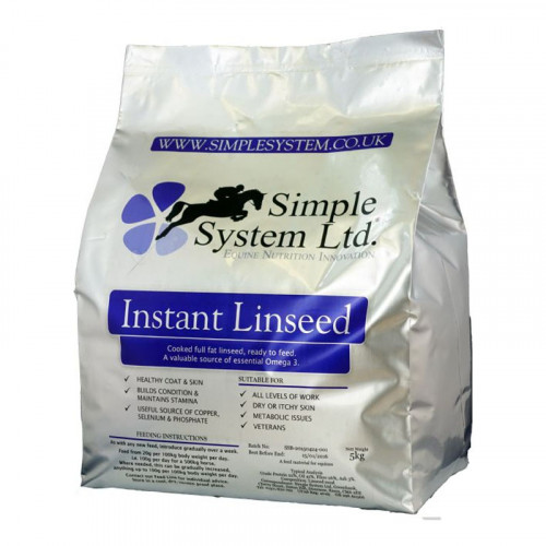 Simple System Instant Linseed 5kg