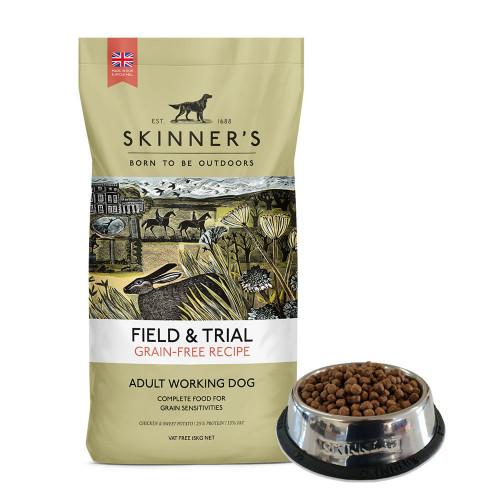 Skinner's Field & Trial Grain Free Chicken & Sweet Potato 15