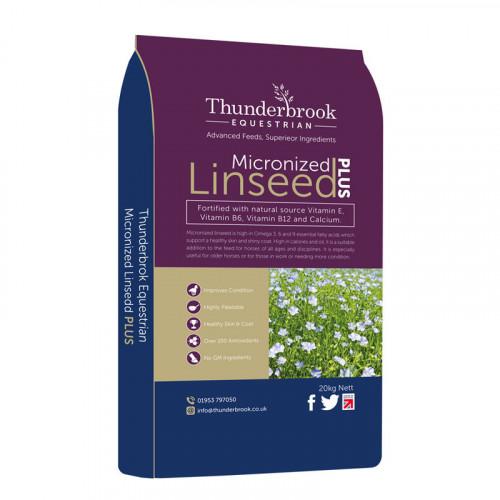 Thunderbrook Micronized Linseed Plus 20kg